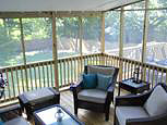 Annapolis screened porch addition